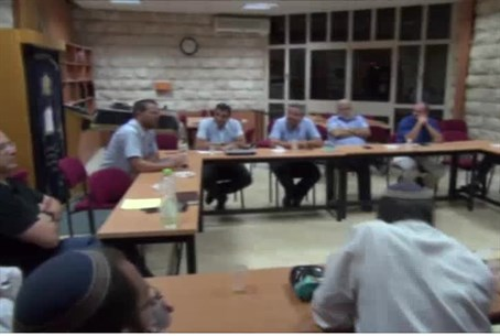 Yeshiva heads discuss budget cut