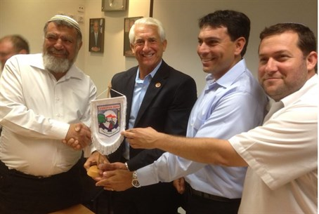 Dave Reichert in the Shomron