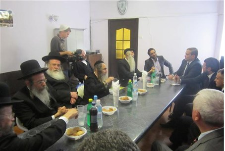 Meeting in Uman