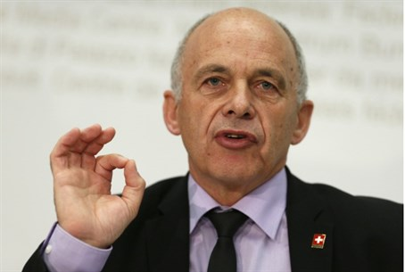 Swiss President and Defence Minister Ueli Mau