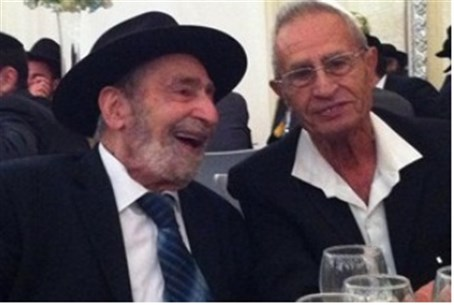 Rabbi Naim Ovadia (left)