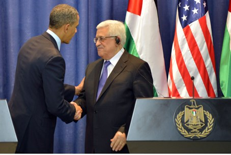 President Barack Obama and PA Chairman Mahmoud Abbas