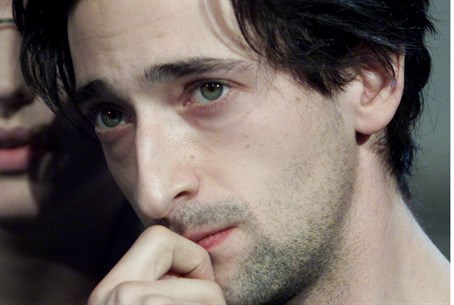 """Actor Adrien Brody, who playsWladyslaw Szpil"