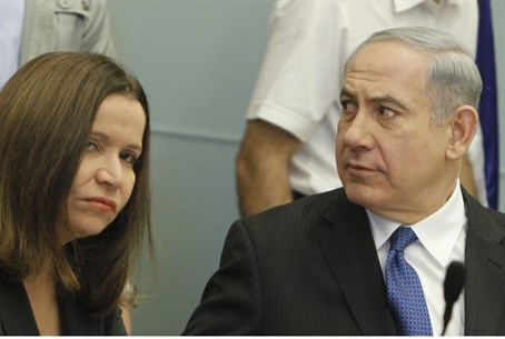 Netanyahu and Yachimovich