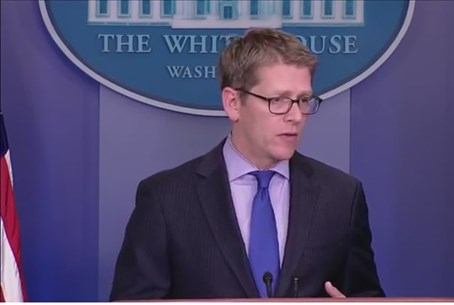 White House Spokesperson Jay Carney