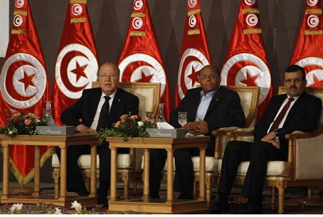 Tunisian leaders (file)