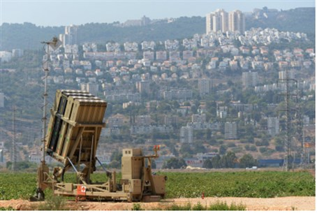 Iron Dome system guards Haifa