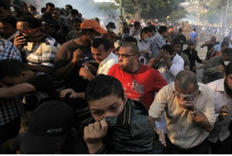 Cairo clashes (archive)