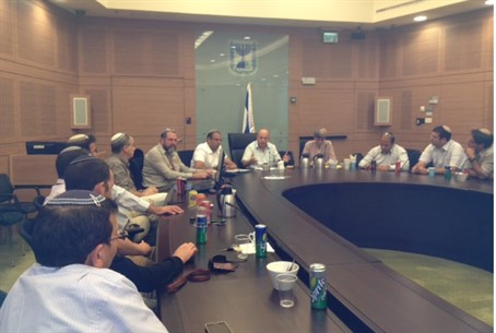 Union of Seminaries at the Knesset