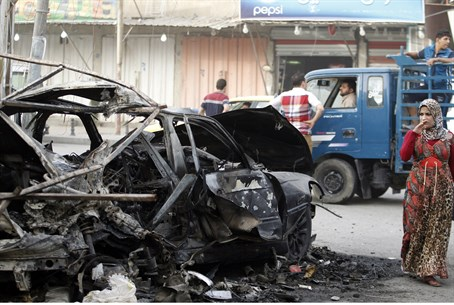 Bomb attack in Baghdad (archive)