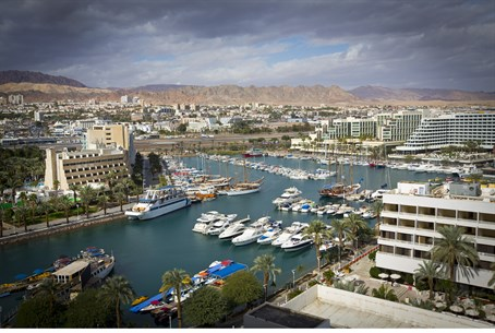 Tourism center of Eilat (illustration)