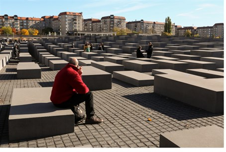 Holocaust Memorial in Berlin (illustration)