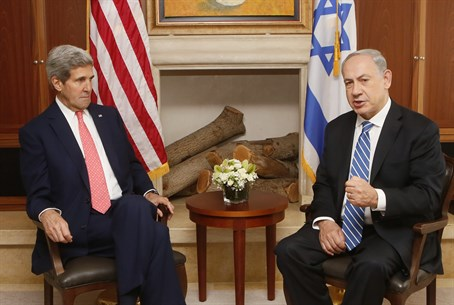 Kerry and Netanyahu