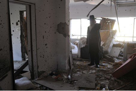 Mumbai Chabad house after attack (file)