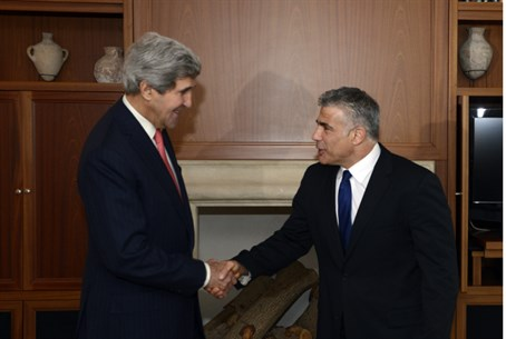 Kerry and Lapid (archive)
