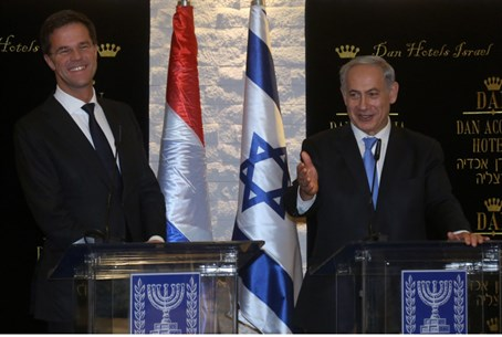 Rutte and Netanyahu