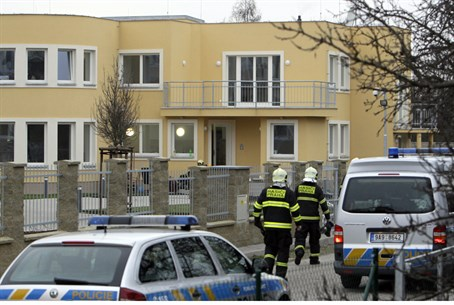 Police outside PA ambassador's home in Prague