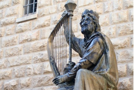 Statue of King David, King David's Tomb