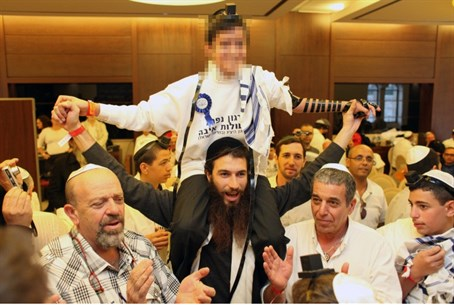A bar mitzvah (photo for illustration only)