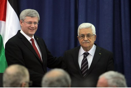 Canadian PM Stephen Harper meets PA Chairman