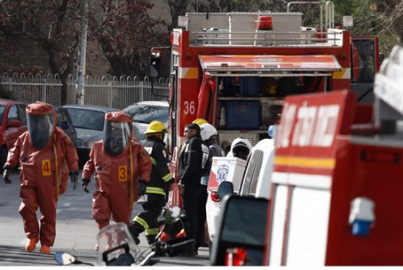 Fire brigade, medics at Jerusalem poisoning s