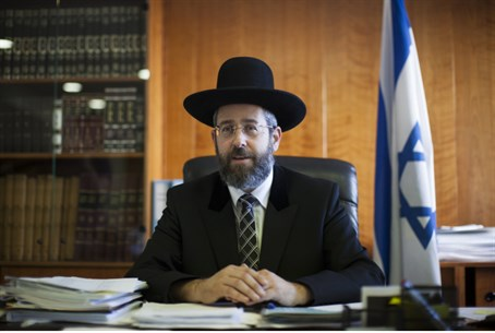 Chief Ashkenazi Rabbi David Lau