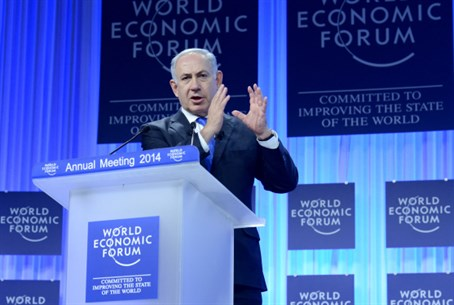 Netanyahu at the World Economic Forum in Davo