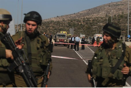 Binyamin region shooting attack