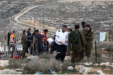 Rescue forces on the scene of Efrat tragedy