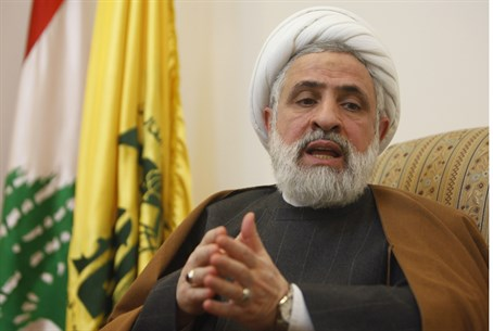 Hezbollah second-in-comman Sheikh Naim Qassem