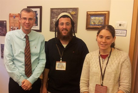 MK Yariv Levin with the young couple