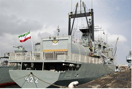 Iranian navy warships (archive)