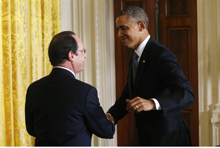 Obama and Hollande