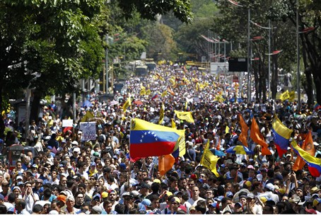Mass protests in Venezuela