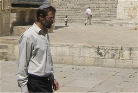 Feiglin on Mount (file photo)