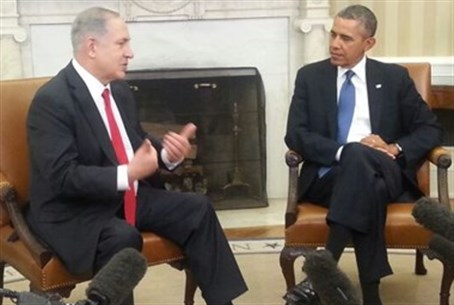 Netanyhau and Obama