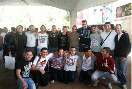 Hesder Yehiva students at the IDF Recruitment