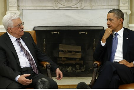 Abbas and Obama (file)