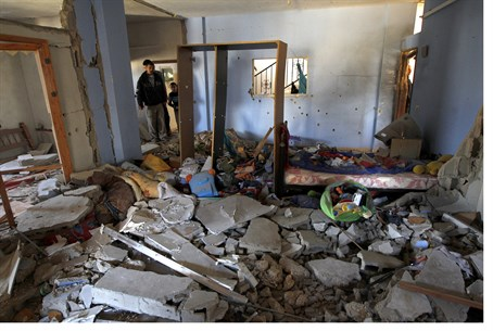 Terrorists' home after operation