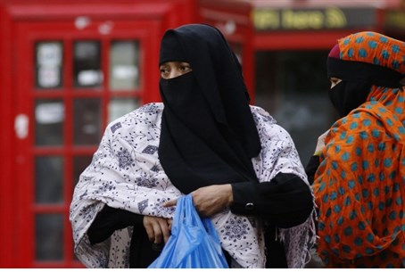Muslim women in London (illustration)