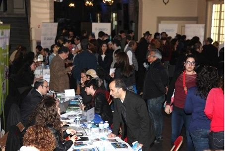 The Aliyah fair in Paris