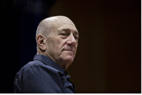 Convicted: Former PM Ehud Olmert