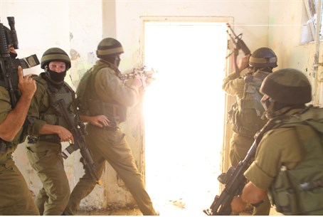 IDF counter-terror unit (file)
