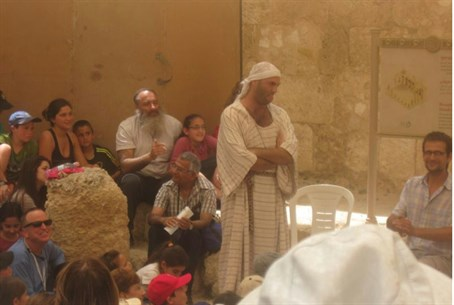 Chol Hamoed activities at Gush Etzion