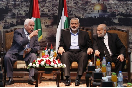 Fatah, Hamas officials meet in Gaza ahead of