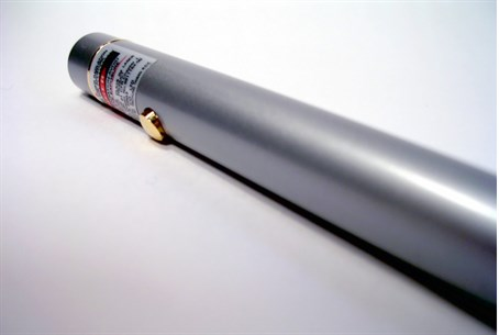 Laser pointer (illustration)
