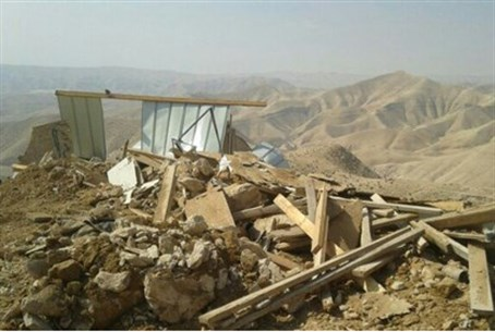 Demolitions in Yissa Beracha