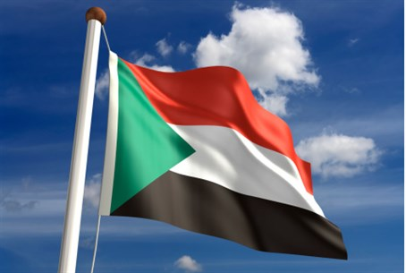 Sudanese flag (illustration)
