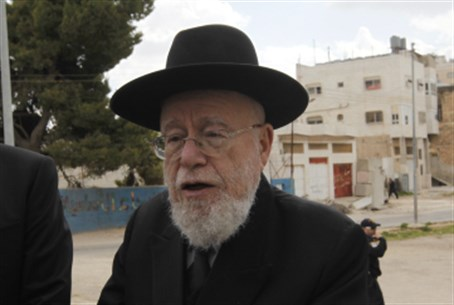 Rabbi Dov Lior (file)