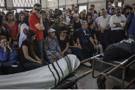 Funeral of Emanuel and Miriam Riva